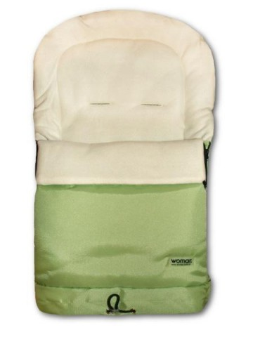 Fusák Womar 3v1 – fleece zelený