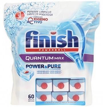 Finish Tablety do myčky - PB Tabs Quantum Power&Pure - 60 tablet