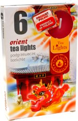 Čajové svíčky 6 kusů –  Orient