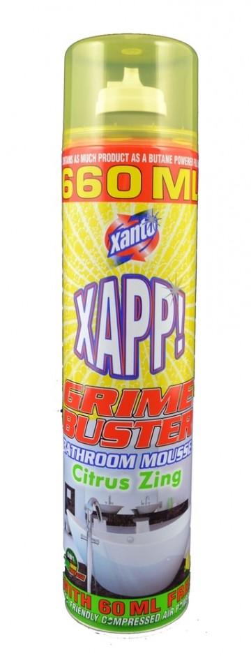 Xanto Power Activ - čistící pěna na koupelny, 660ml
