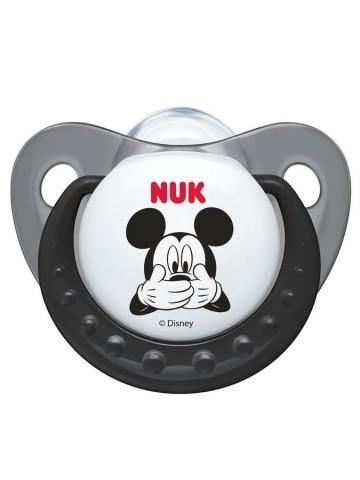 Šidítko NUK Trendine Mickey 6-18m šedé