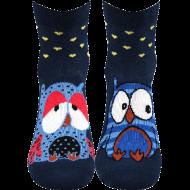Ponožky - Sovy - velikost 39-42