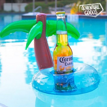Nafukovací držák na nápojové plechovky - ostrov