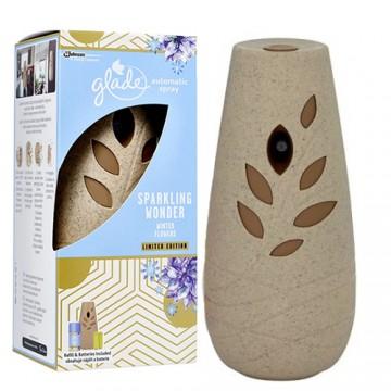 Glade by Brise 269ml - Automatický osvěžovač vzduchu, hnědý + náplň - Zimní květy