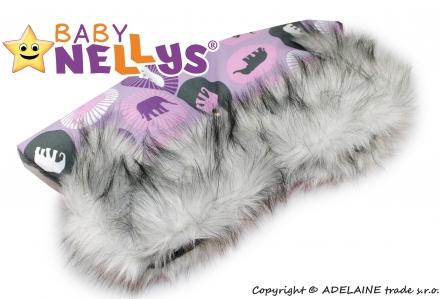 Baby Nellys Kézmelegítő babakocsira ®LUX Eskymo - 04