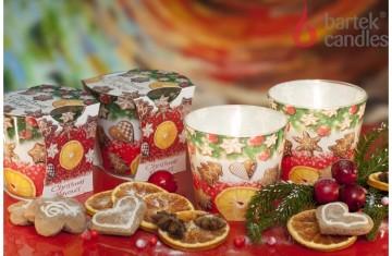 Vonná svíčka ve skle – Vánoční vůně sušenek, 115g