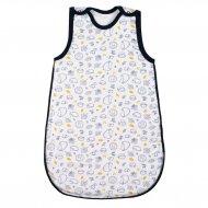 Kojenecký zateplený spací pytel New Baby Hedgehog modrý