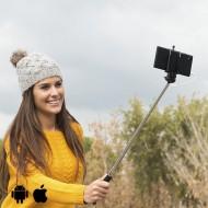 Selfie bot vezetékkel - fekete