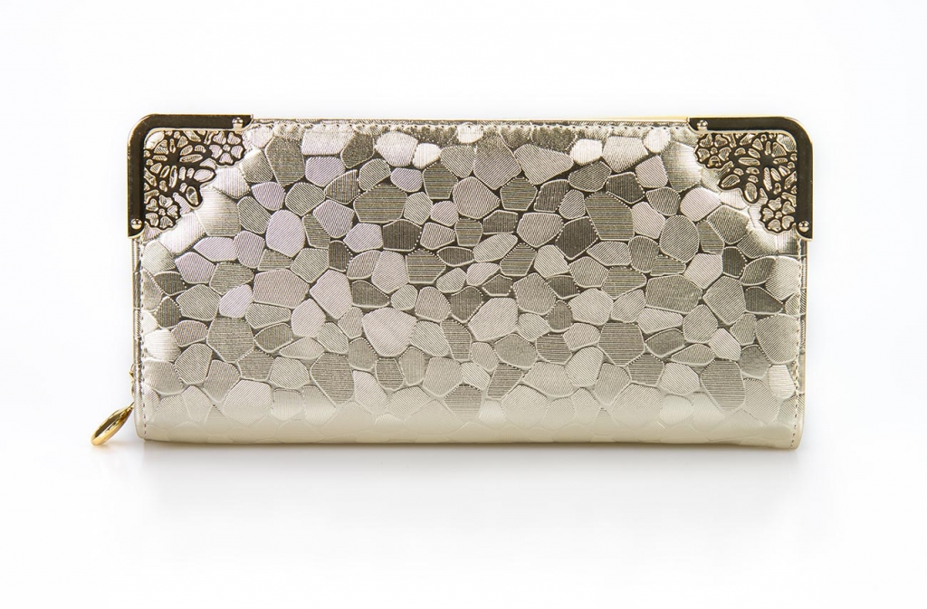 Dámska peňaženka deluxe - zlatá [152]