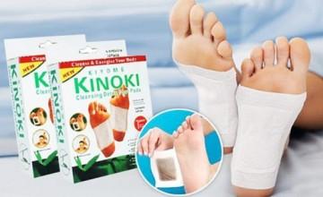 Plasturi detox Kiyome Kinoki  set 10 bucăți