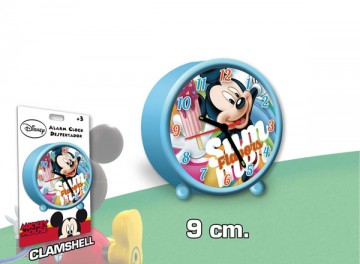 Budík Mickey nanuk 9 cm