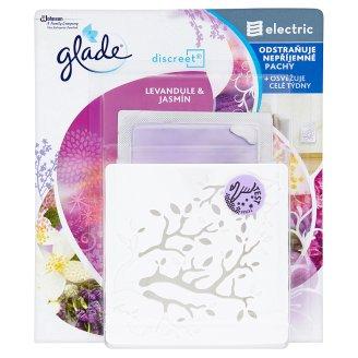 Glade Discreet - strojek + náplň Levandule & jasmín 8 g