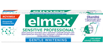 Bělicí zubní pasta elmex® SENSITIVE PROFESSIONAL™ Gentle Whitening