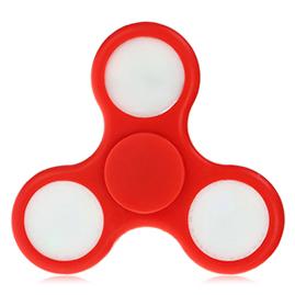 Fidget spinner - červený