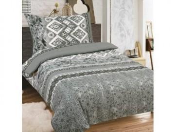 Lenjerie de pat din bumbac, pentru 2 persoane 140x200/70x90cm [PL0120]