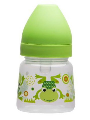 Fľaša so širokým hrdlom Akuku 125 ml zelená