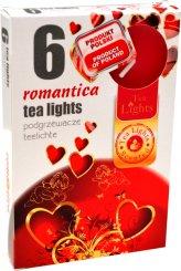 Čajové svíčky 6 kusů –  Romantika