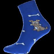 Ponožky Pejsek - 1 pár, velikost 43-46