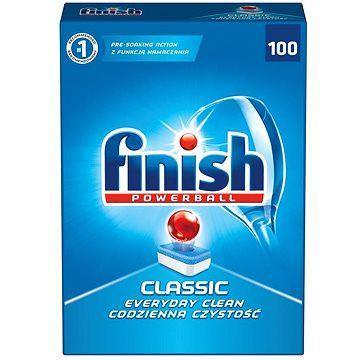 Finish Tablety do myčky - Powerball Classic - 100 tablet
