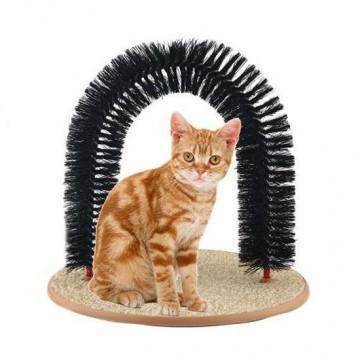 Perie de masaj pentru pisici