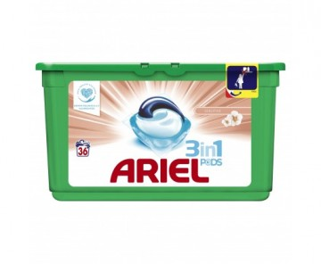 Ariel Sensitive 3v1, kapsle - 36 ks