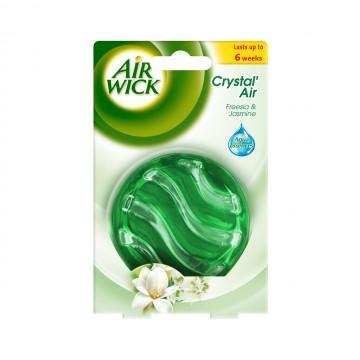 Air Wick Crystal´ Air - Bílé květy frézie, 5,21g