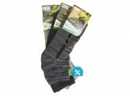 Pánské bambusové kotníkové termo ponožky Pesail BM3534 - 3 páry, velikost 43-47