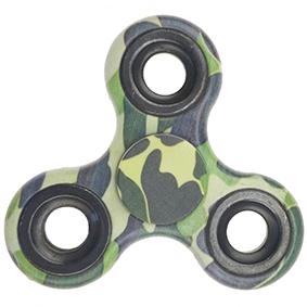 Fidget spinner - maskáčový2, zelený