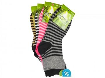 Dámské klasické bambusové ponožky ROTA W005 - 5 párů, velikost 35-39