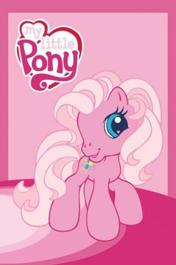 Dětský ručník My Little Pony růžová 60/40