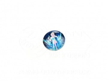 Ozdobný patent na náramek - Frozen 10
