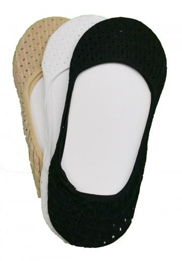 Bavlněné ťapky - 3 páry, velikost 35-38