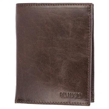 Pánská peněženka Bellugio - čokoládově hnědá [969]