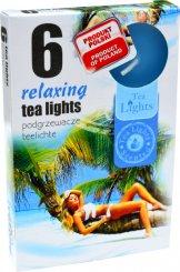 Čajové svíčky 6 kusů –  Relax