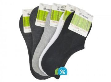 Dámské podkotníkové bambusové ponožky Pesail YW30B - 5 párů, velikost 35-38