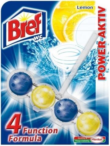 Bref Power Aktiv WC 50g - lemon - 10 db