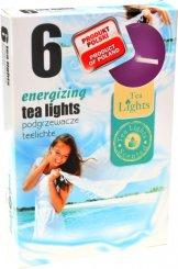 Čajové svíčky 6 kusů –  Energizing