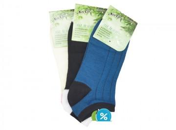 Dámské kotníkové bambusové ponožky NaiGe NW10104 - 3 páry, velikost 35-38