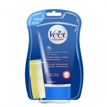 Veet - pánský sprchový depilační krém na normální pokožku, 150ml
