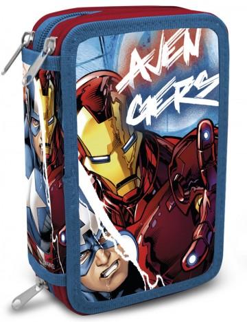 Třípatrový plný penál Avengers