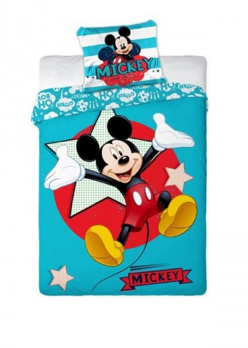 Ágyneműhuzat Polar Fleece Mickey 140/200 cm