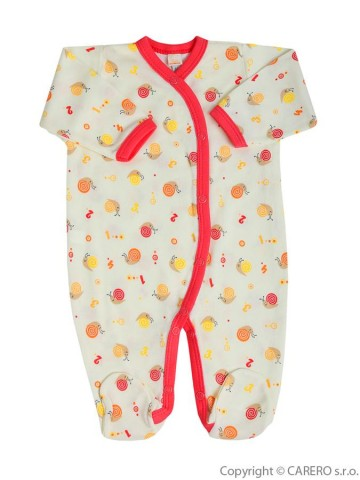 Dojčenský overal Bobas Fashion Obláčik béžový
