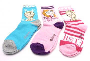 Ponožky - Frozen - QE4706-2 - velikost 23-26 cena za 3 páry