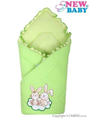 Zavinovačka New Baby Bunnies zelená