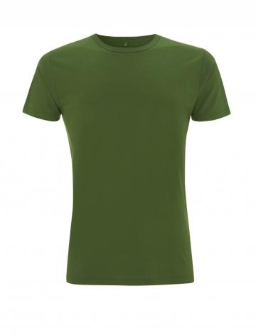 Pánské bambusové tričko, klasický střih - zelená, 1 ks - velikost XL