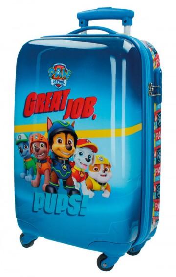 Cestovní kufr ABS Paw Patrol 55 cm
