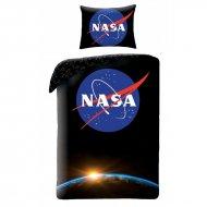 HALANTEX Povlečení NASA Black Bavlna, 140/200, 70/90 cm