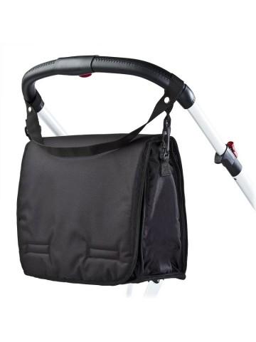 Taška na kočárek s přebalovací podložkou CARETERO black
