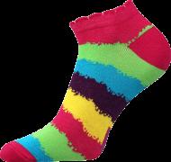 Ponožky Pruhy, nízké - 1 pár, velikost 39-42