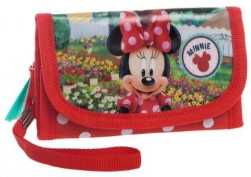 Peněženka Minnie zahradnice 14 cm
